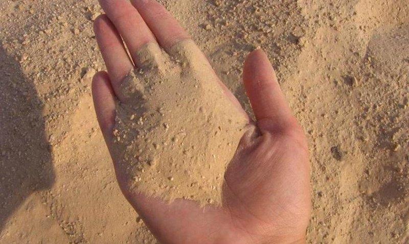 Использование песка в огороде