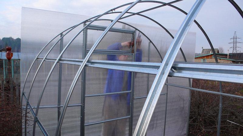Какой поликарбонат использовать для строительства теплицы: отзывы