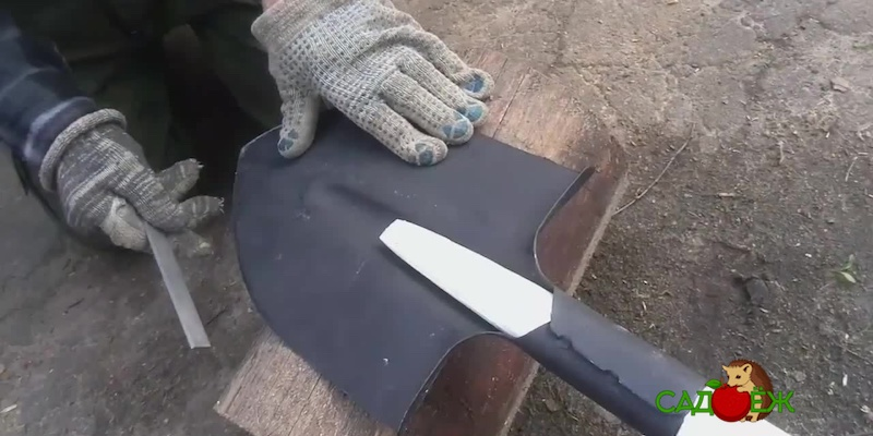 Как заточить штыковую лопату?