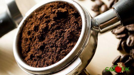 Спитой кофе в огороде