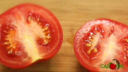 Почему томаты вырастают с прожилками