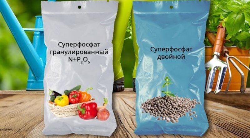 Суперфосфат и двойной суперфосфат