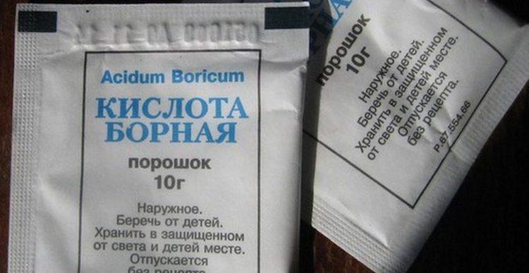 Борная кислота для клубники