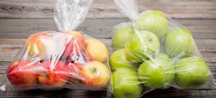 Хранение яблок в пакетах