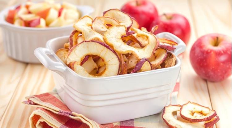 Условия хранения сушеных яблок
