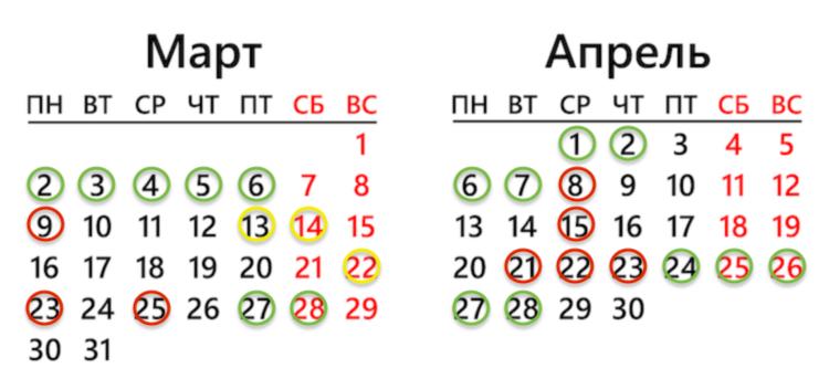 Календарь посадки петунии на рассаду в 2020 году