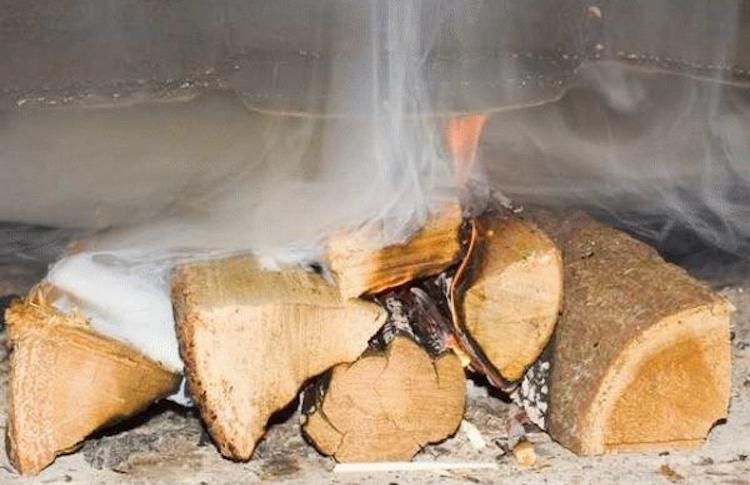 Осина и ольха для чистки дымохода